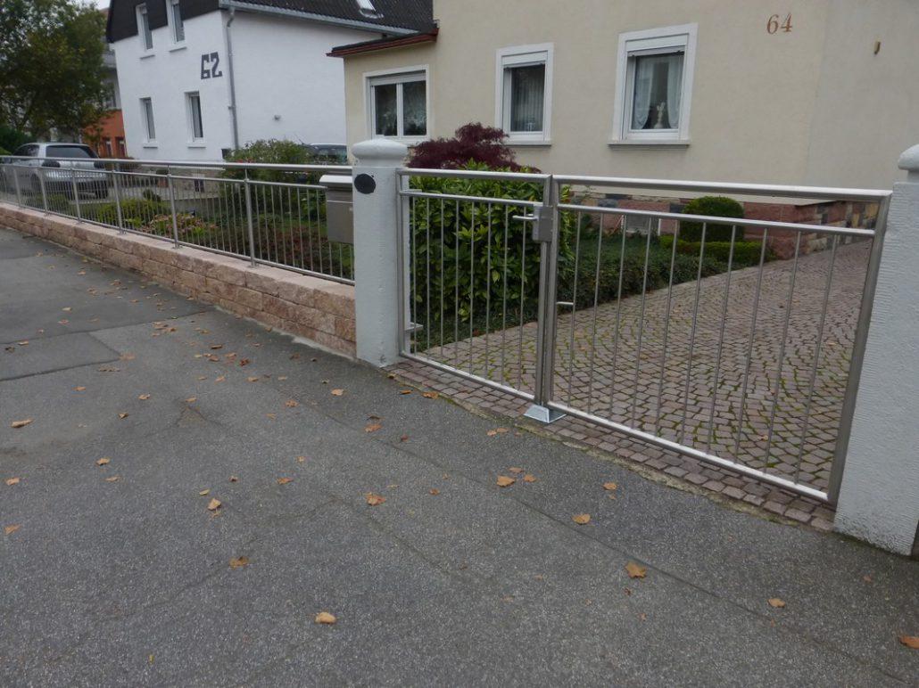 Einfriedung Zaun – Edelstahl Roland Berg – Fürth